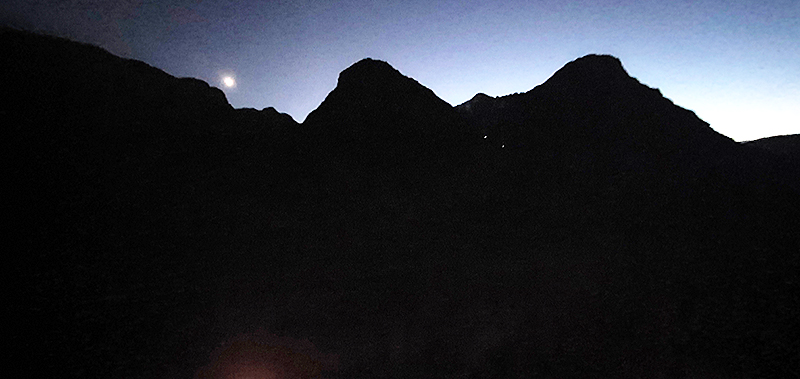 Wee candles in Glen Coe mountains on December 31st 2020 © 2019 Scotiana