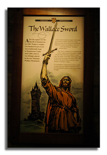 Wallace's Sword The Wallace Monument