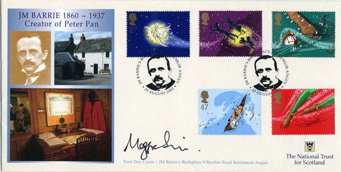 Sir J.M. Barrie - Peter Pan - FDC - National Trust
