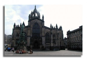 St-Giles' Cathedral on Parliament Square