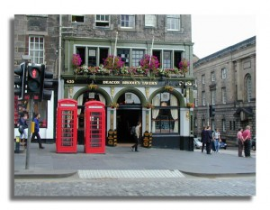 The Royal Mile, Edinburg
