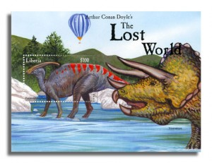 Liberia - The Lost World - Souvenir Sheet - 1999