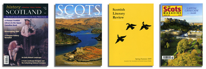 A Sense Of Place In Scottish Magazines