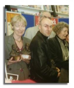 Christopher Brookmyre at Sherlock Award Ceremony