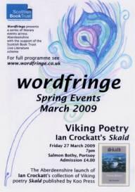 Aberdeen Wordfringe Festival 2009