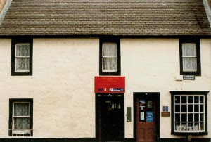 Sanquhar Post Office - Dumfries and Galloway - Scotland