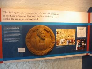 Stirling Castle -Scotland - Wodden Medallions