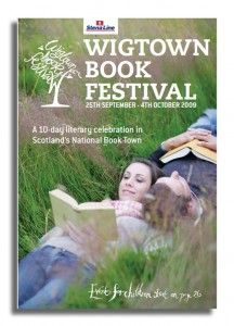 Wigtown 2009 Festival poster