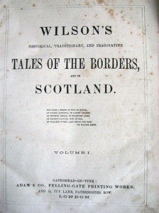 Wilson's Tales of The Border - Frontispice