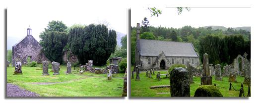 Balquhidder Romantic Churchyard