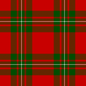 MacGregor tartan (Vestiarium Scoticum) Source : Wikipedia