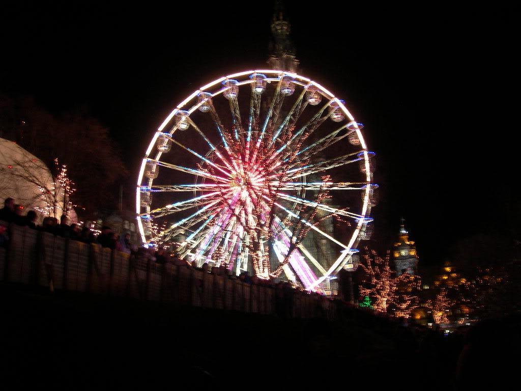 Christmas Carnival Ferris Wheel