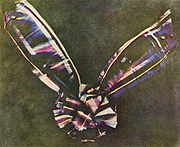 Tartan Ribbon - First Color Photograph -1861 (Source: Wikipedia)