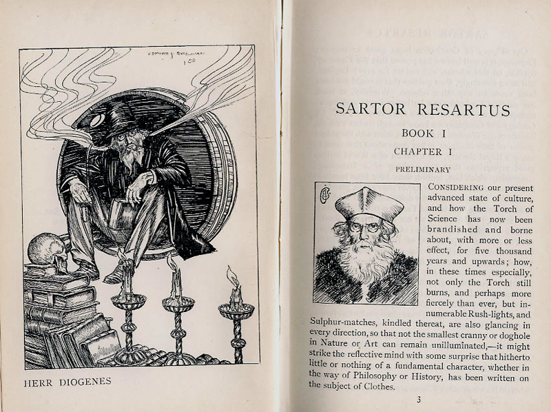 Sartor Resartus Illustration by Edmund J Sullivan