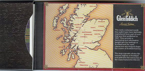 Scottish Clan - Map - Glenfiddich Card Set