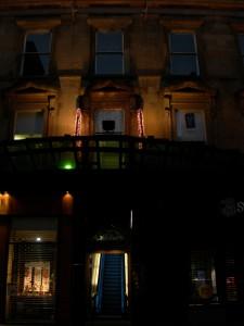 Princes Square Central Escalator Entrance, Glasgow. Copyright 2007 Scotiana