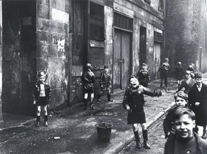 The Gorbals Children by Roger Main, 1958