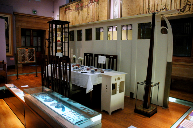 Charles Mackintosh Murals For Tea Rooms