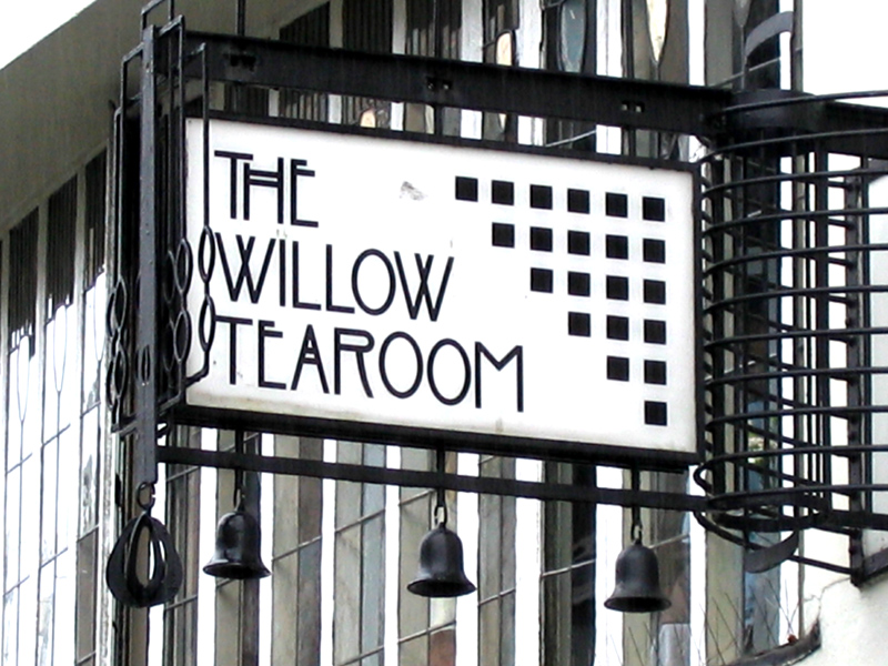 Willow Tea Rooms Sauchiehall Street Glasgow