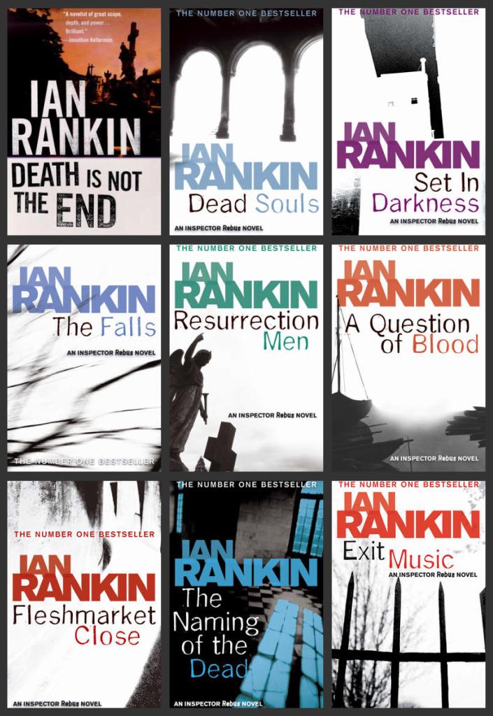 Inspector John Rebus - Ian Rankin - Mystery Crime Novels