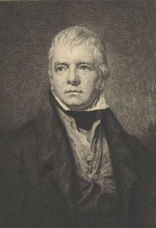 Walter Scott Portrait