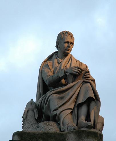 Sir Walter Scott Monument Edinburgh  © 2007 Scotiana