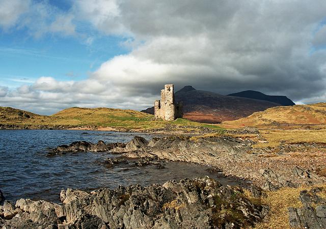 Ardvreck Castle Loch Assynt Sutherland