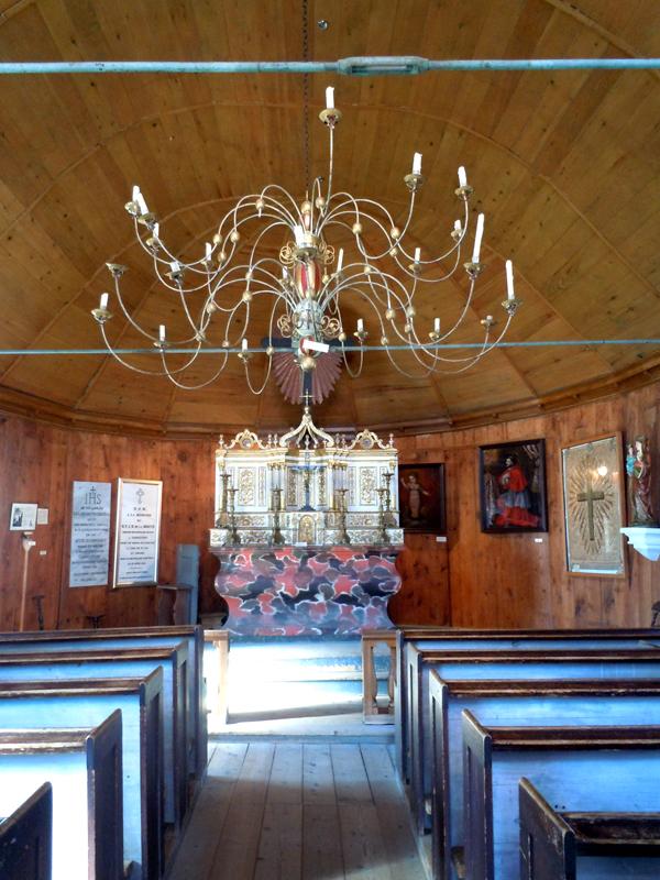 Tadoussac Chapel altar Quebec PQ
