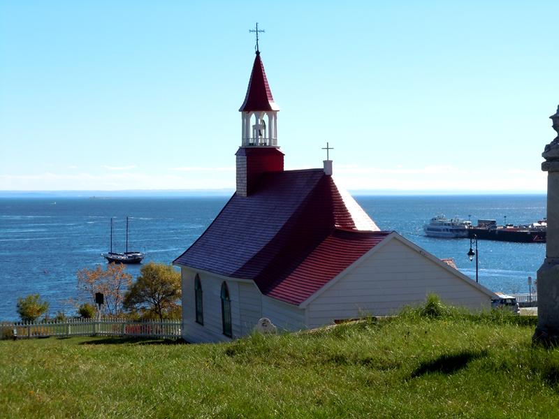 Quebec PQ Tadoussac Chapel