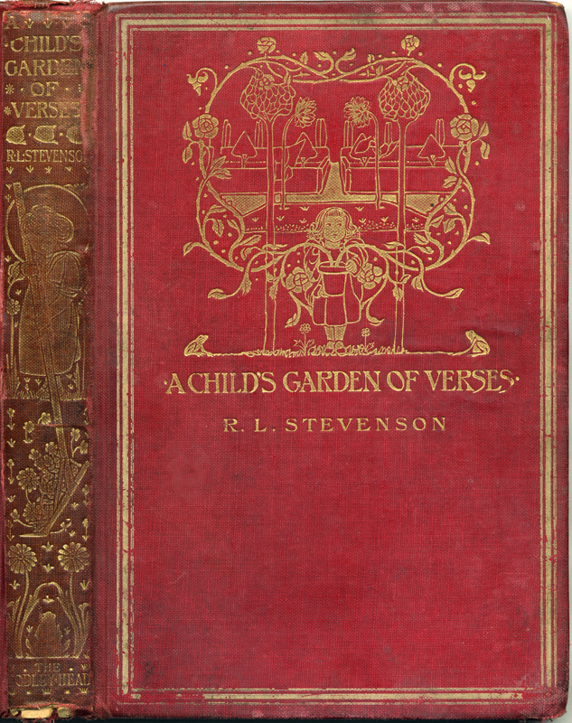 Robert Louis Stevenson A Child's Garden of Verses 1909