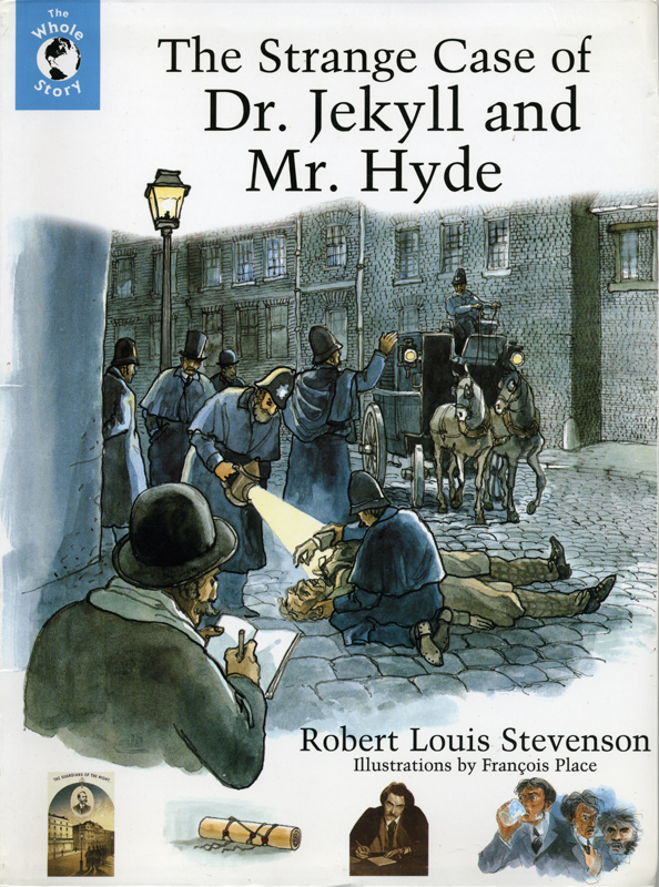 Robert Louis Stevenson The Strange Case of Dr Jekyll and Mr Hyde Viking Illustrations by François Place  1999