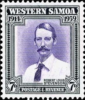 Western Samoa 1939 Postage Stamp - Robert Louis Stevenson