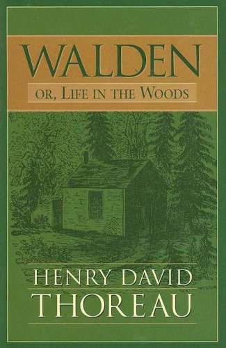 Henry David Thoreau Walden or Life in the Woods Castle Books edition  2007