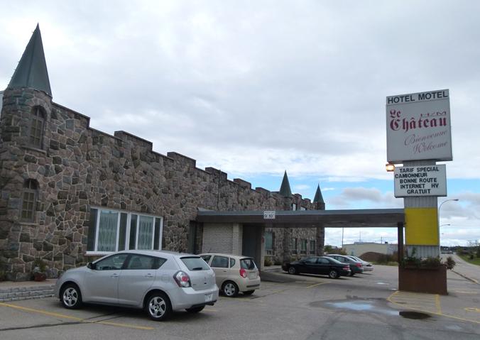 Motel Le Château Port Cartier Scotiana Octobre 2010