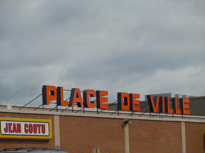 Place de Ville Shopping Centre Sept-Îles Côte-Nord Quebec PC Scotiana 2010