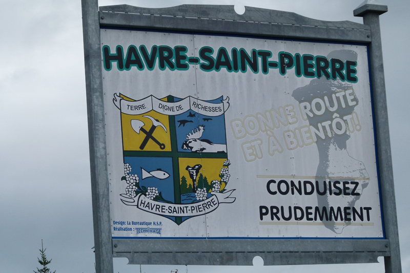 Havre-Saint-Pierre arms Côte-Nord Quebec PQ Scotiana 2010