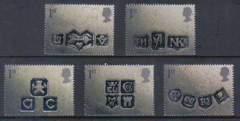 Great-Britain-2001-First Issue Of Occasions stamps