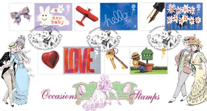 Gretna Green Postmarks 2002 Bradbury FDC