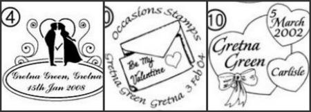 Gretna-Green-Topical-Postmark