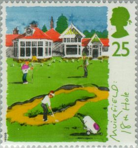 Scottish Golf Courses - GB 1994 Postage Stamps