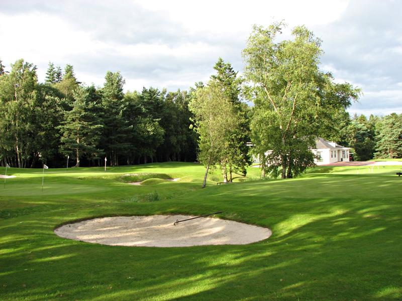 Gleneagles golf course Auchterarder, Perth and Kinross, Scotland © 2007 Scotiana
