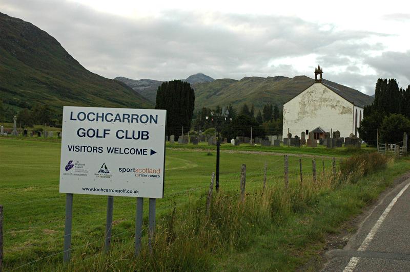 Lochcarron golf club Ross-shire, Highland  © 2007 Scotiana
