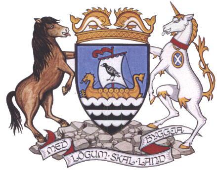 Coat of arms of Shetland Source Wikipedia
