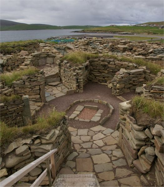 Old Scatness - Iron Age Village & Broch Wikipedia
