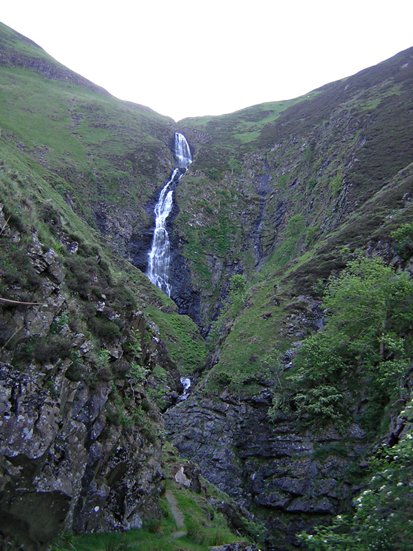 Grey Mare's Tail - Dumfries & Galloway - Scotland  © 2004 Scotiana