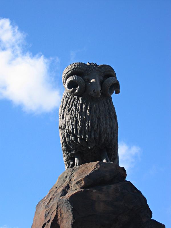 Ram monument - Moffat - Dumfries & Galloway - Scotland  © 2004 Scotiana