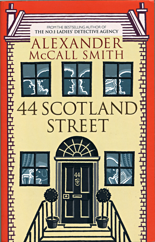 44 Scotland Street Alexander McCall Smith Abacus illustrated edition 2005 frontcover