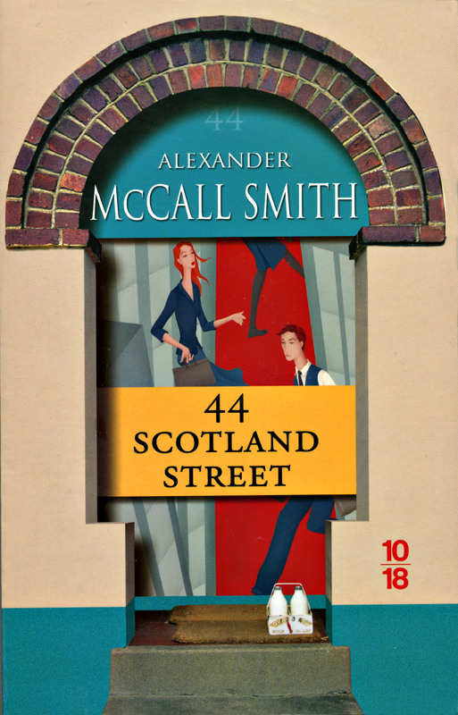 44 Scotland Street Alexander McCall Smith Edition 10-18 2007 frontcover