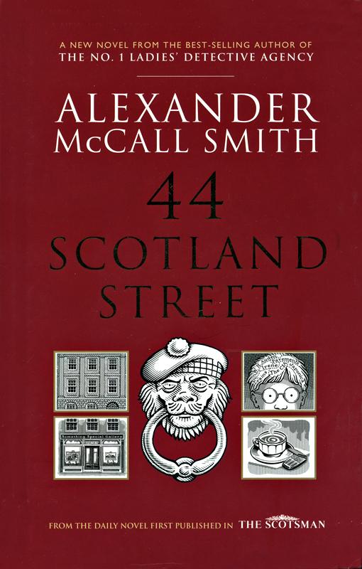Alexander McCall Smith 44 Scotland Street front cover Polygon 2005