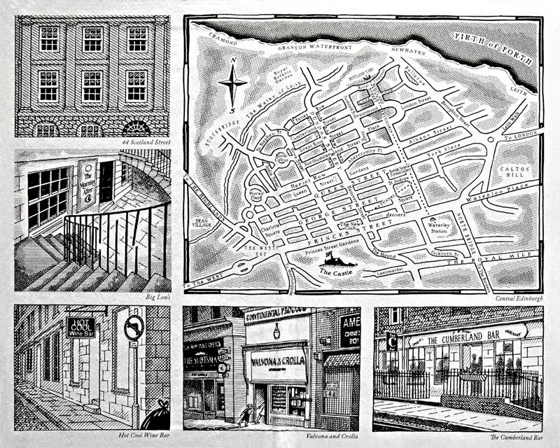 Alexander McCall Smith 44 Scotland Street 2005 Hardcover Polygon Edition Illustrations © Iain McIntosh 2005